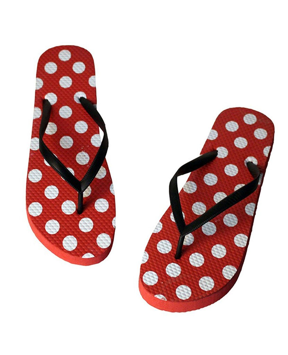 c3a58ededf94 Diorot Women s Casual Summer Beach Cute Dot Flip Flops Sandal Slippers     Insider s special review you can t miss. Read more at Sandals board