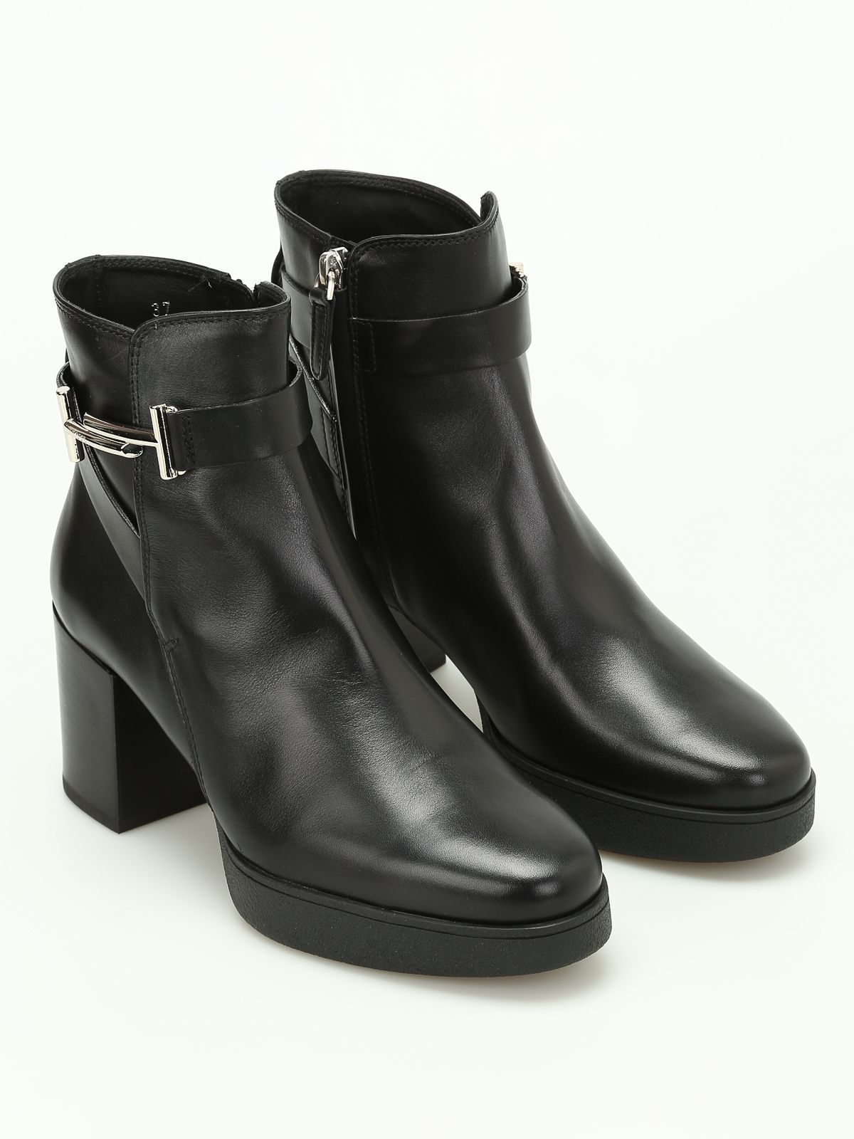 Classical Womens Tods Zipped Ankle Boots Shop Official