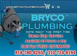 Los Angeles Plumbers At Bryco Plumbing Announce Service Coupons And Discounts For Repair This Summer Drain Repair Plumbing Plumbing Repair
