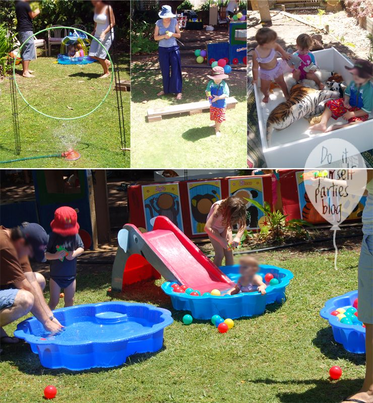 For my eldest daughters 3rd birthday we did a big top circus theme for my eldest daughter birthday we did a big top circus theme it was summertime so i thought i would make it an outdoor water part solutioingenieria Gallery