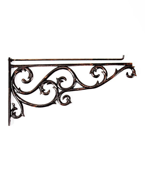 Look at this Black Estate Flag Wall Bracket on #zulily today!