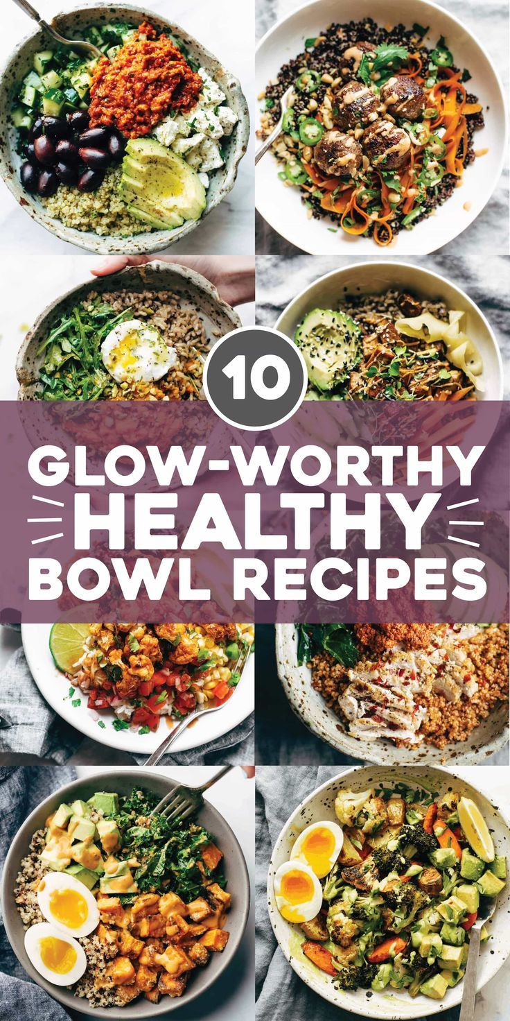 10 Best Healthy Bowl Recipes - Pinch of Yum
