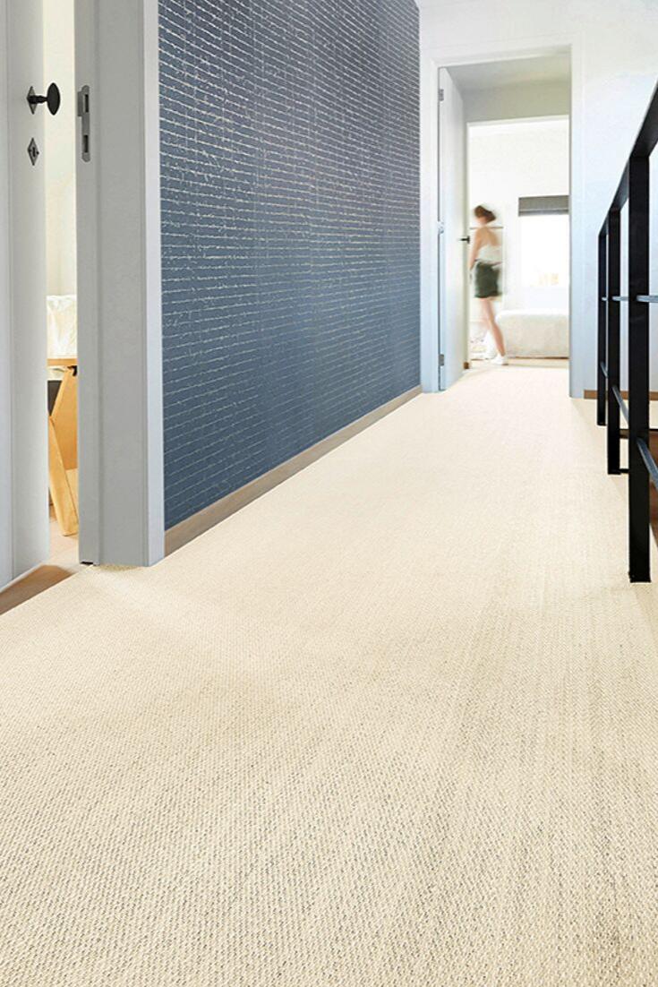 Un sol vinyle aspect fibre tissée pour vos couloirs  Sol vinyle