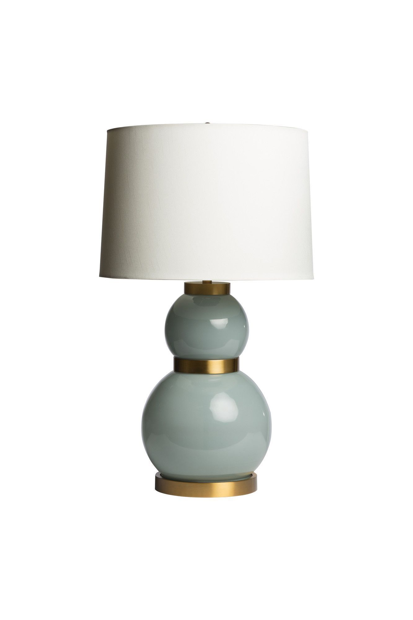 Lexi blue table lamp rusticcontemporarylivingroom