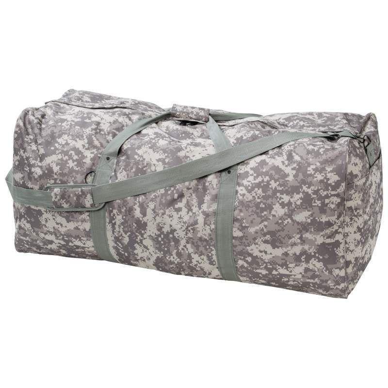 Extremepak Digital Camo Water-Resistant Duffel Bag, Perfect For Camping