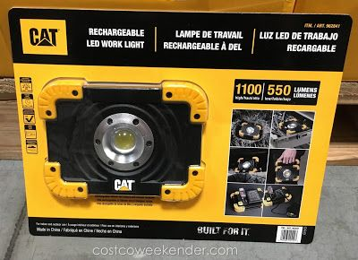 41afdf614812c Cat Rechargeable LED Work Light at Costco | Gear | Led work light ...