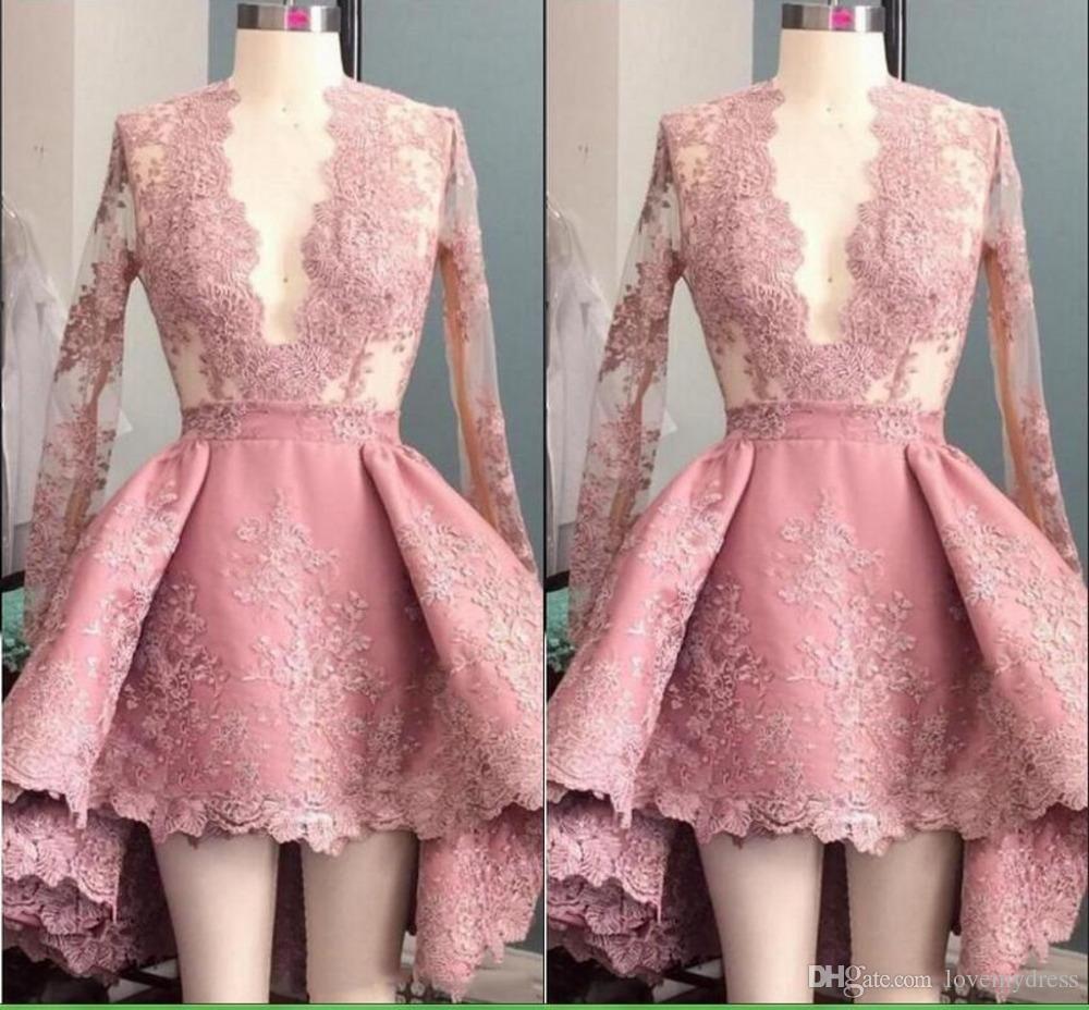 pink cocktail dress