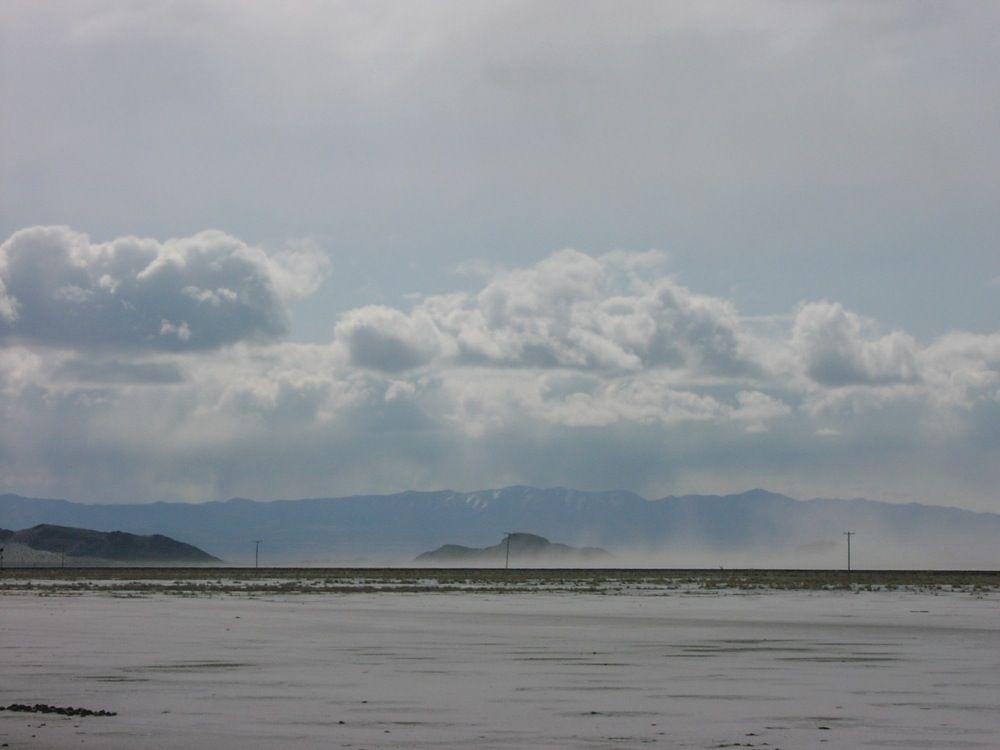 The Great Salt Flats And The San Rafael Desert Salt Salt