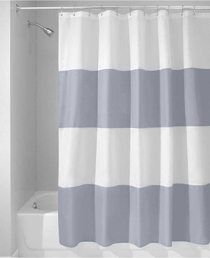 Interdesign Zeno Stripe 72 X 72 Shower Curtain Reviews