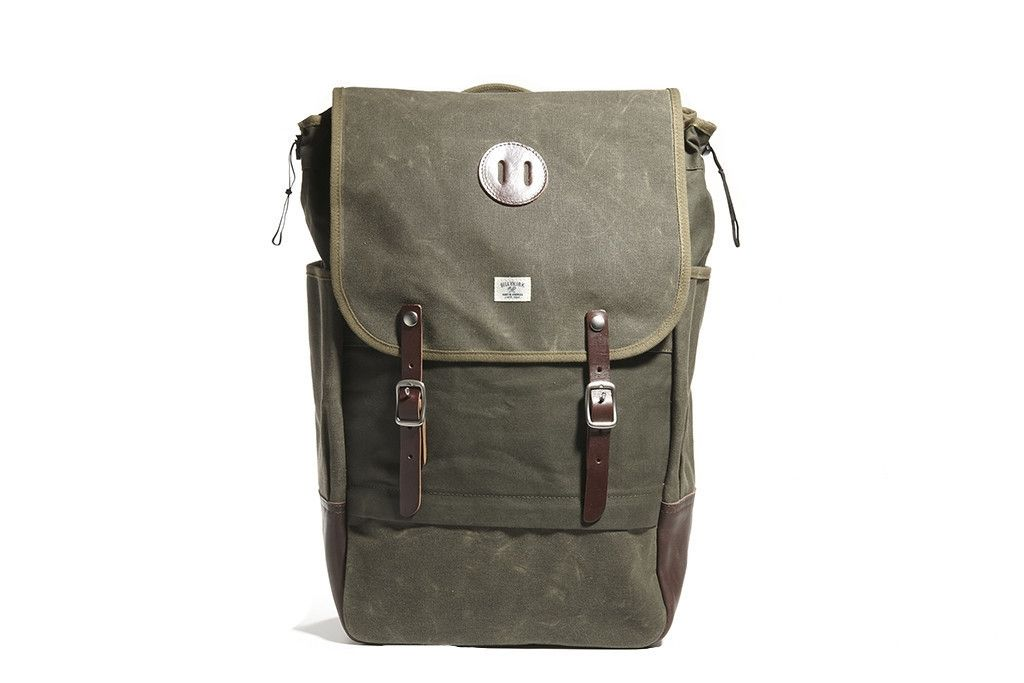 awesome Billykirk No. 372 Rucksack, Olive Waxed ($ 330)