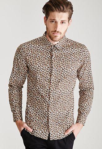 Leopard Print Shirt Forever 21