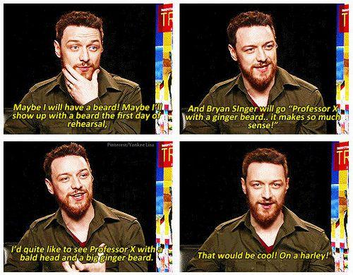 James McAvoy - X-Men: ...