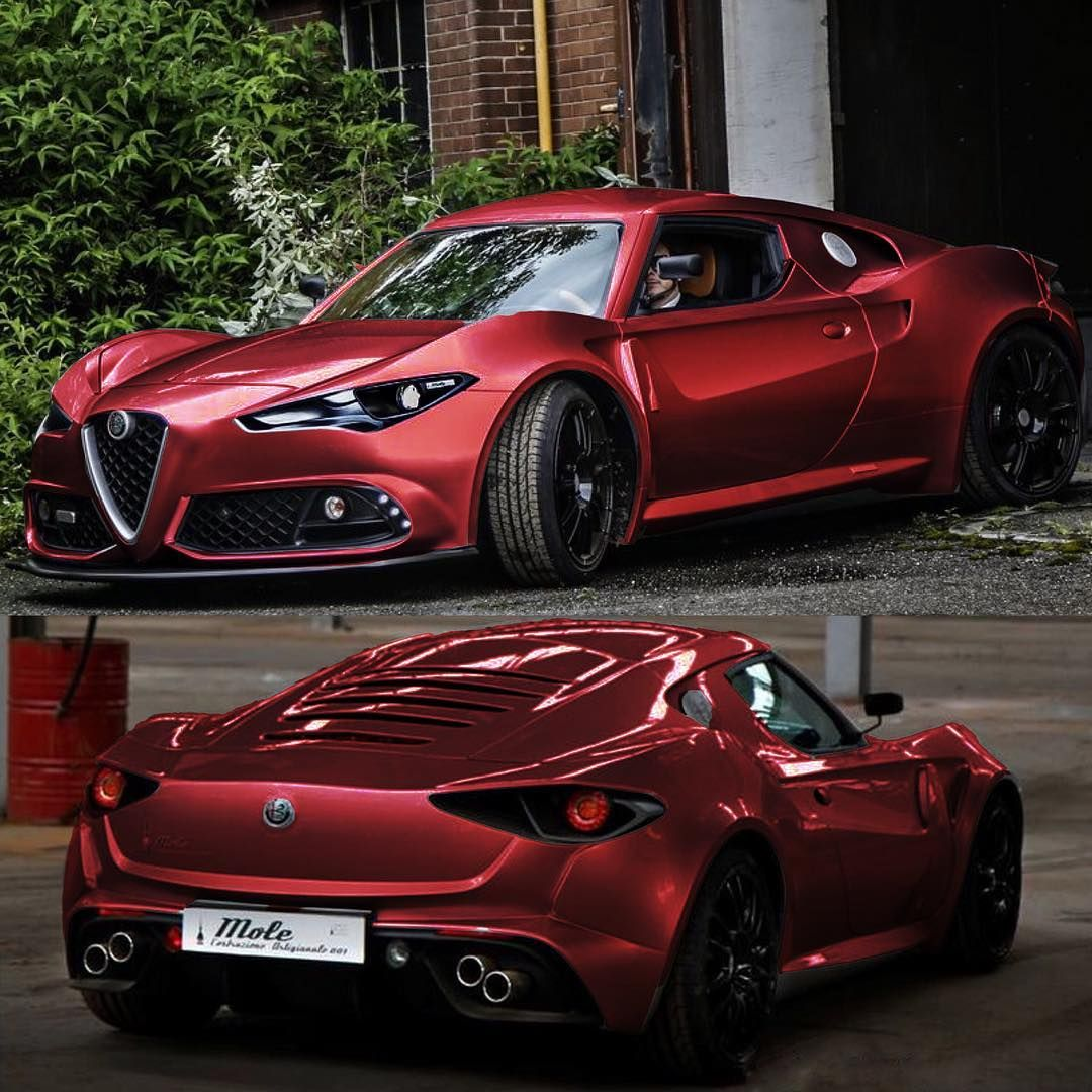 Red Coachbuilt 4c I M Sure Everyone Has Seen This But I Just Had