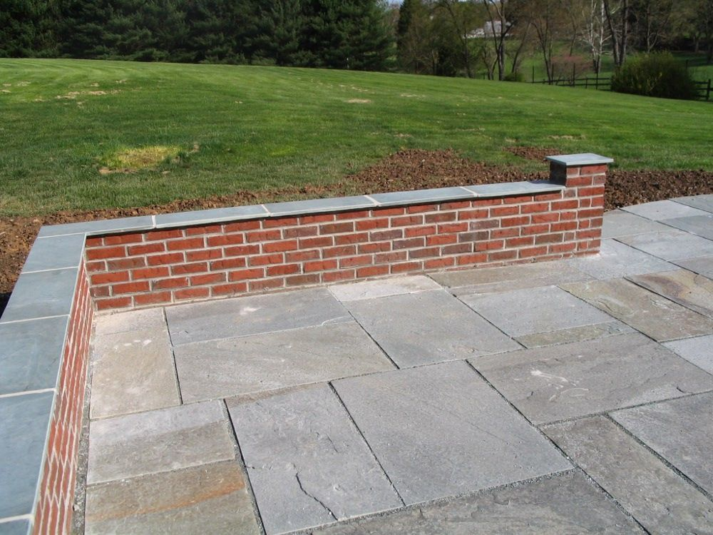 Stone Knee Wall For Patio Careers Sitting Walls Knee