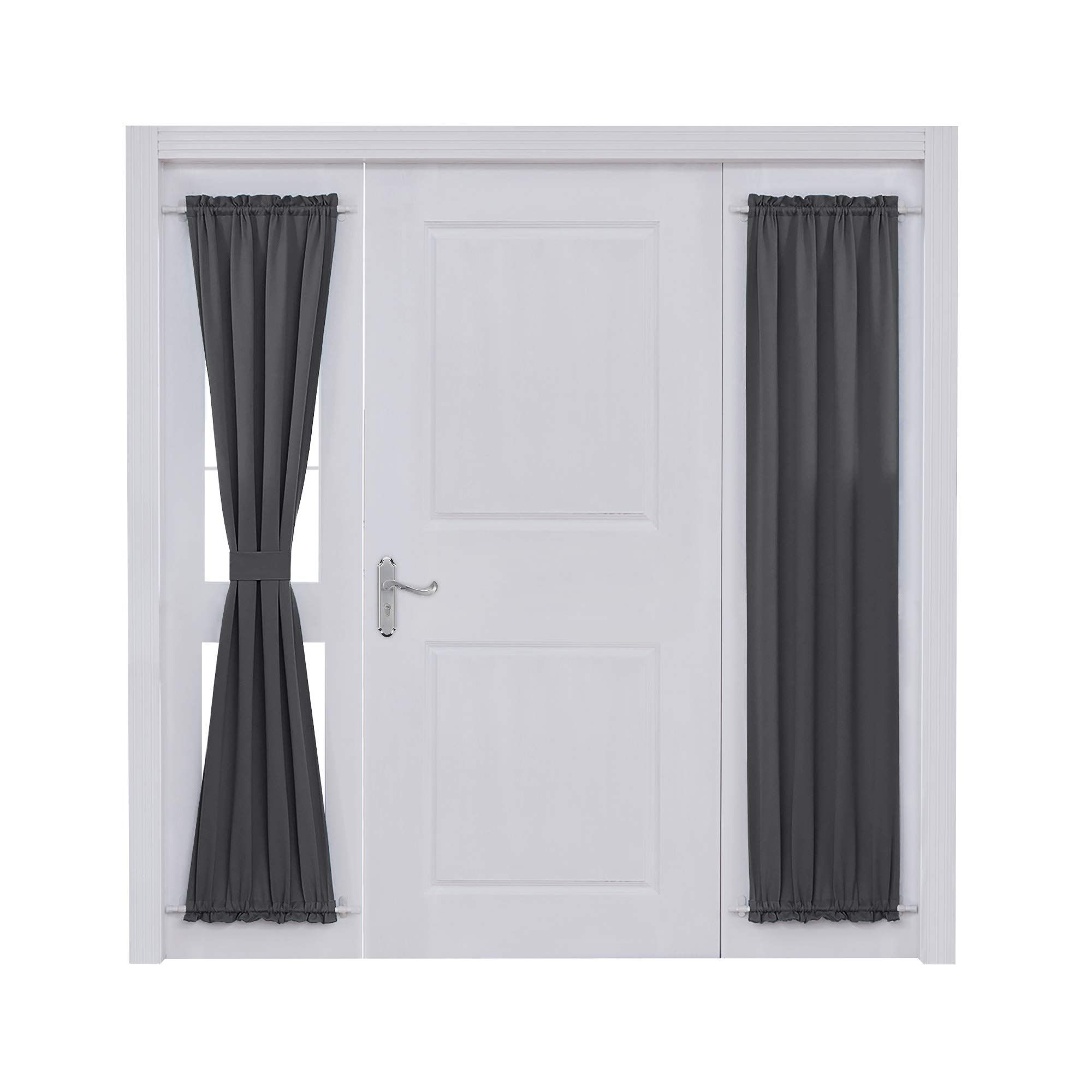 Deconovo Rod Pocket Door Panel Curtain Thermal Insulated Curtains