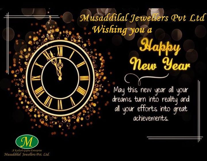 musaddilal jewellers wishing happy new year to all our customer and friends musaddilal_jewellers happy_new_year
