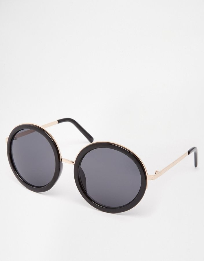 853f20e09bc131 ASOS Round Sunglasses With Metal Bridge Detail   Accessorize Me ...
