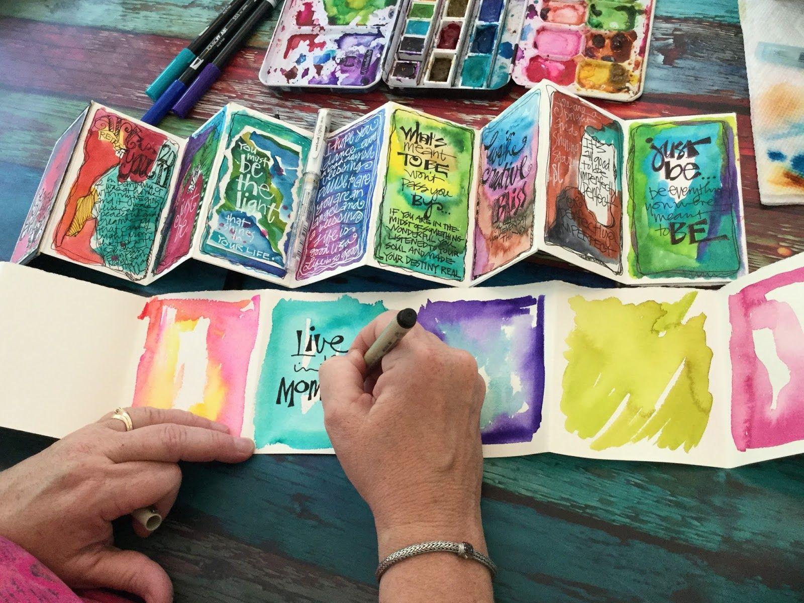 Joanne Sharpe Art Book Art Book Making Art Journal