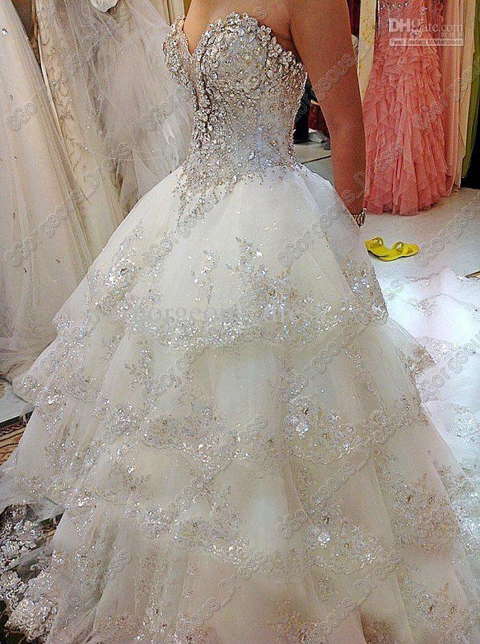 I found my dream dress!   Wedding   Pinterest   White wedding ...