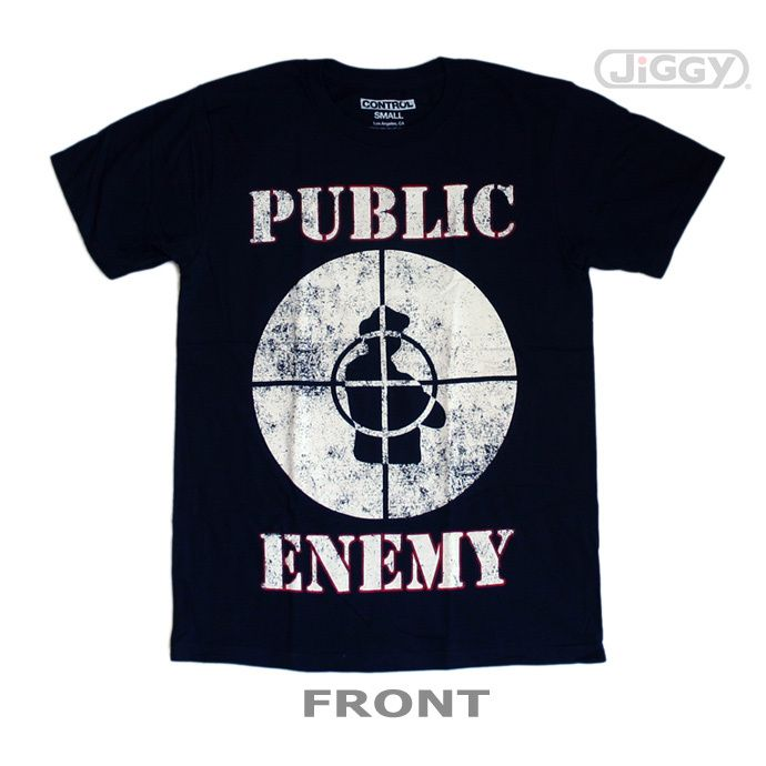 promo code 78540 ffc81 JiGGy.Com - Public Enemy - Fight The Power Target T-Shirt ...