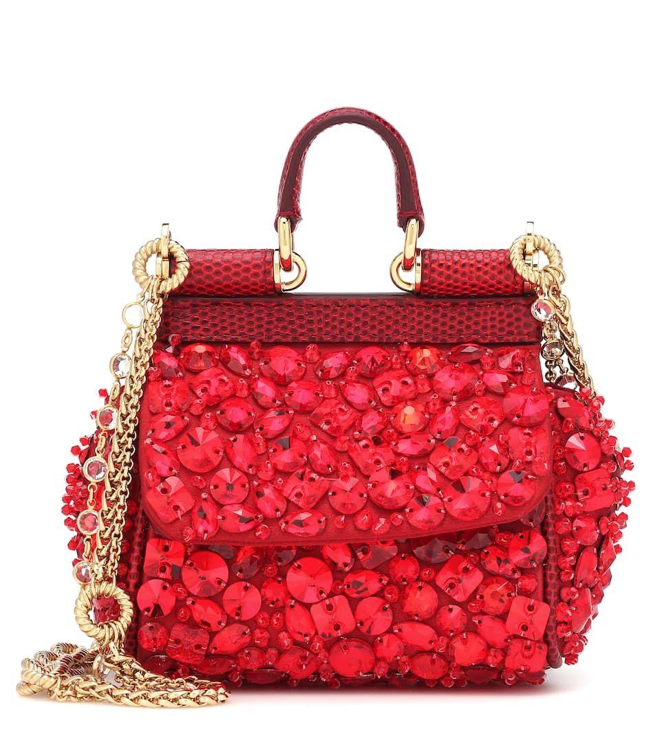 b0e20c8852 Embellished Mytheresa Micro Shoulder Gabbana BagDolceamp; Sicily N80Ovmwn
