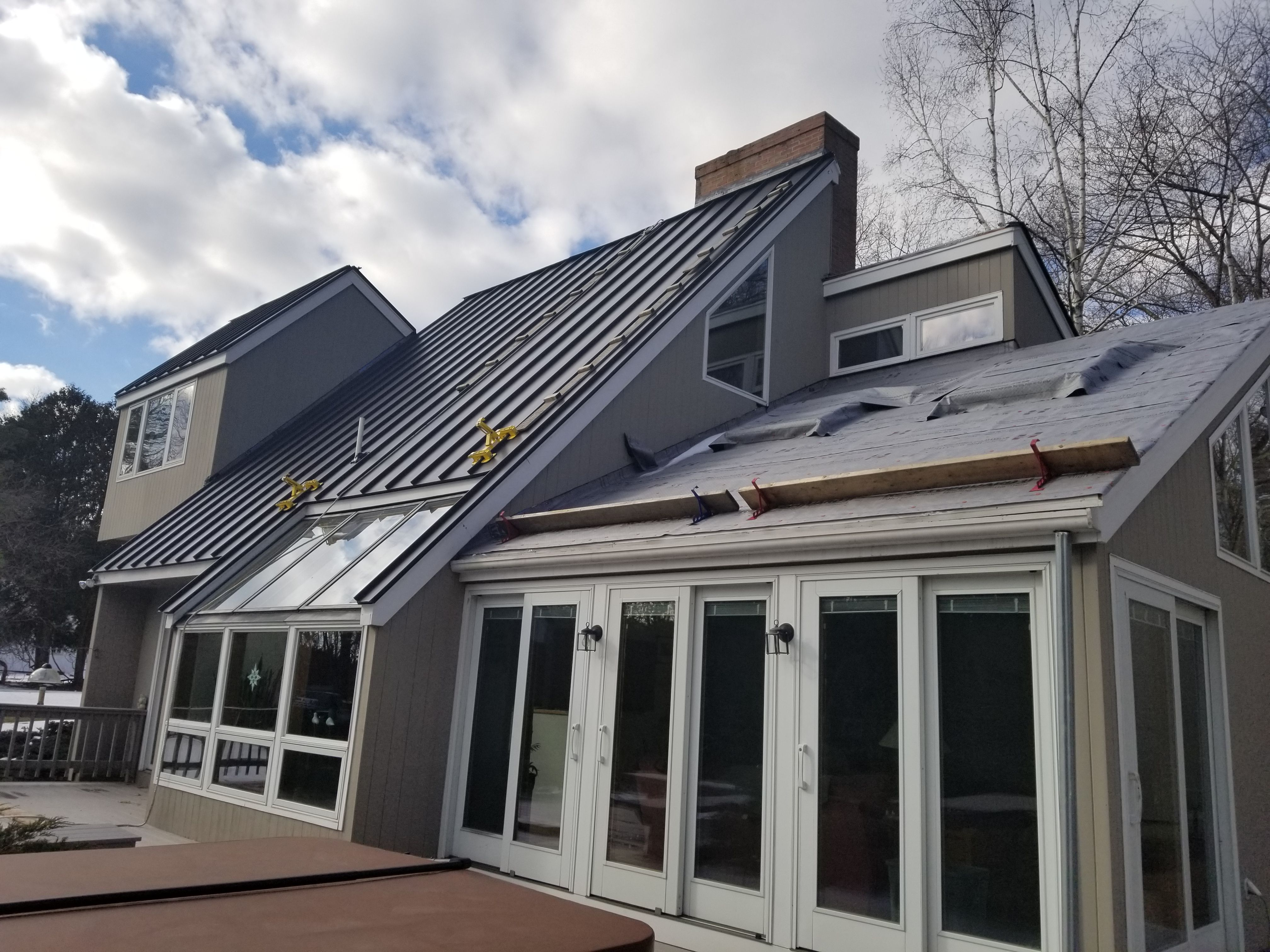 Classic Metal Roofs Llc Casa De Acero Casas Acero