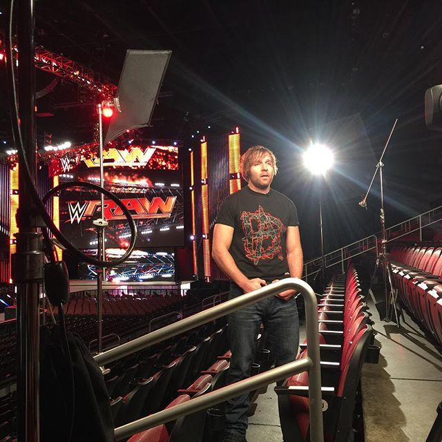 What does the #LunaticFringe #DeanAmbrose have to say on @espn @sportscenter? He'll be on #OffTheTopRope during this hour!