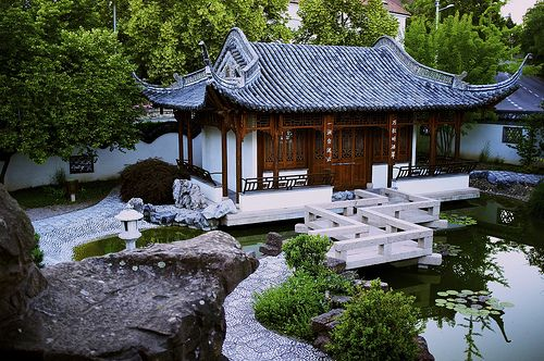 Unique Chinese garden Stuttgart