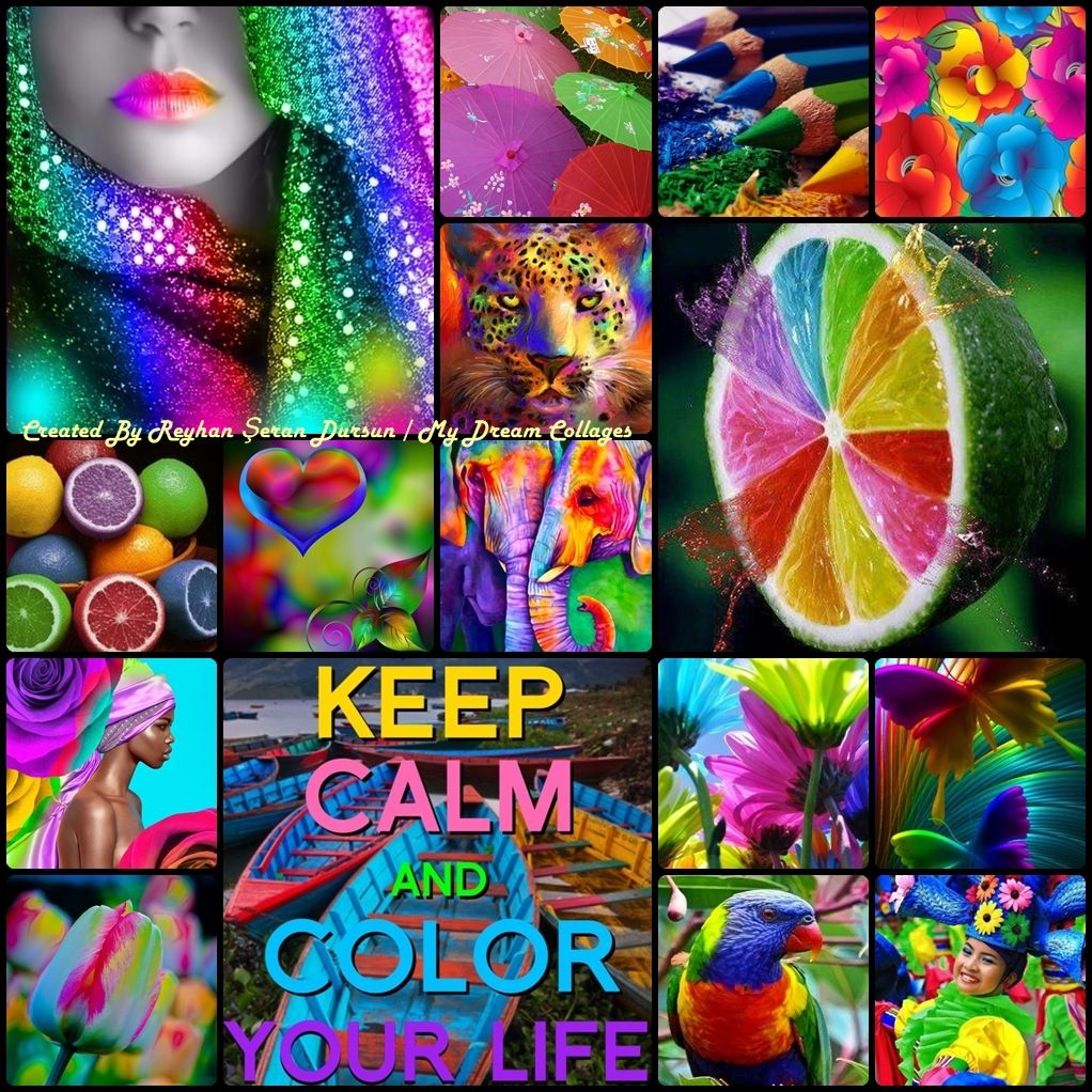 Color Your Life Quotes Keep Calm And Color Your Life ''reyhan Seran Dursun  Lady