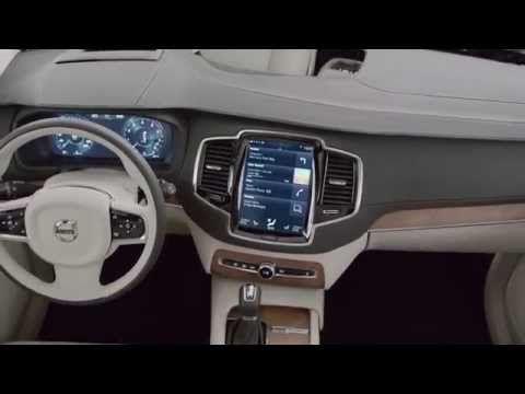 2015 Volvo Xc90 Interior Showcased Youtube Volvo Xc90