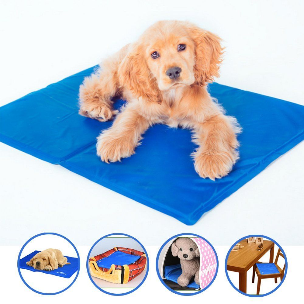 Luckstar Cooling Pet Mat Comfort And Soft Dog Cat Bed Folding Self Cooling Mat For Keeping Pet Cool Read More Reviews Of Th With Images Cat Bed Pet Mat