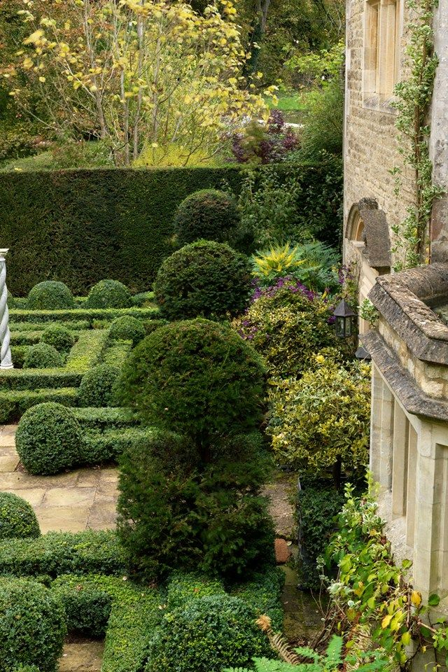 Topiary Garden Design Ideas Part - 26: This Cotswolds Garden Is A Topiary Dream World