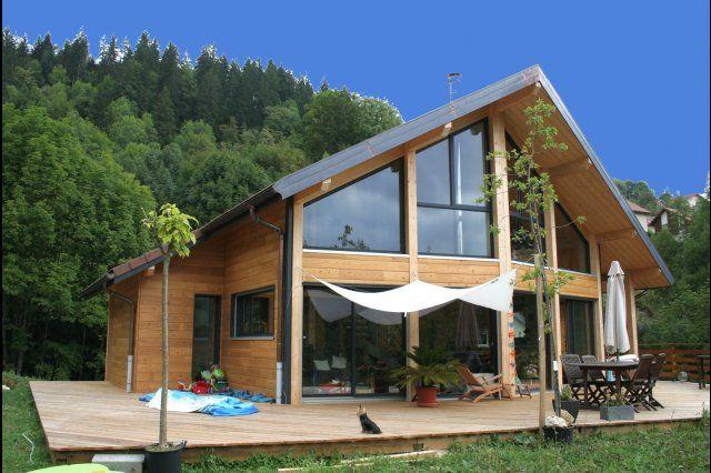 maison ossature bois myotte duquet alpine style. Black Bedroom Furniture Sets. Home Design Ideas