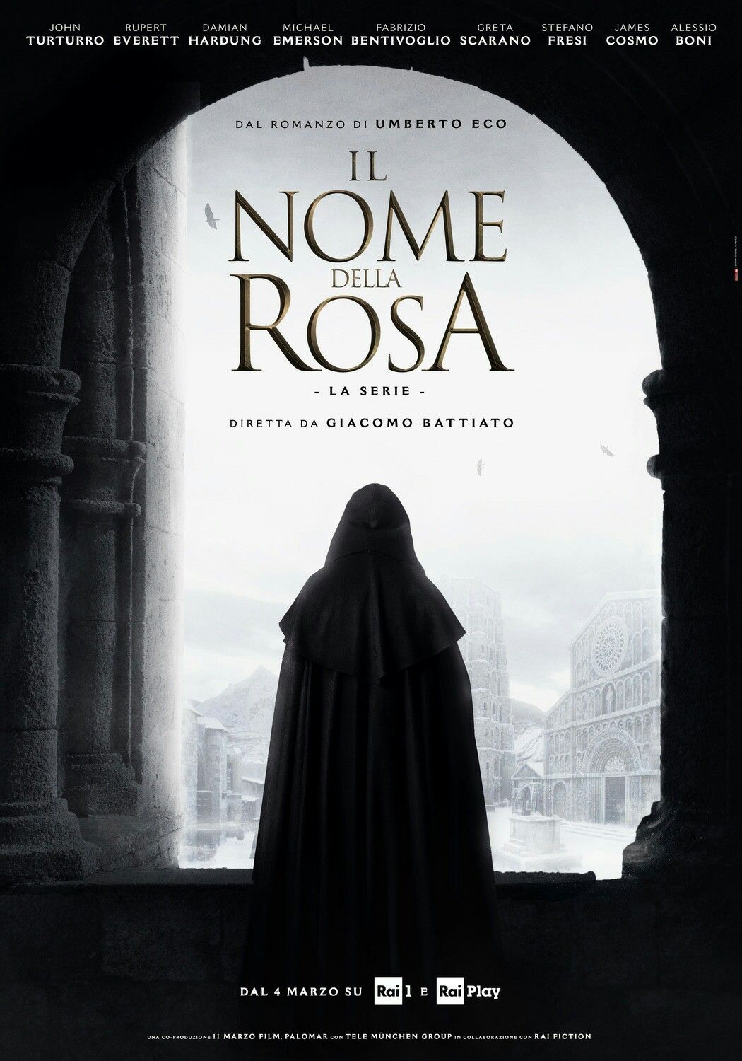 Four New Posters For The Italian Series The Name Of The Rose Il