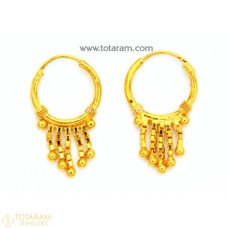 Baby Earrings Indian gold jewelry Baby earrings and Gold jewellery