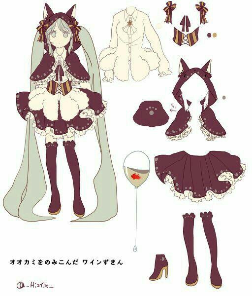 Anime girl cute outfit neko cat ears text; Anime Girls   Anime Girls   Pinterest