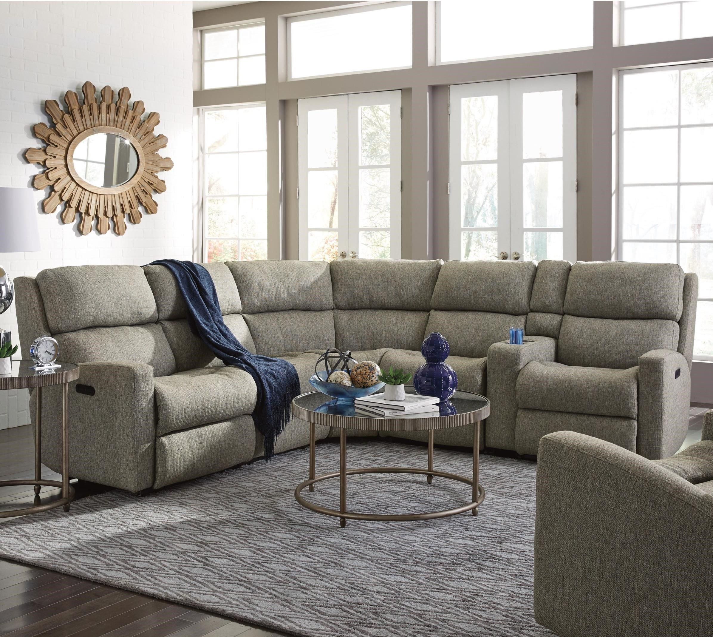 Pleasant Catalina 6 Piece Manual Reclining Sectional Sofa With Laf Pdpeps Interior Chair Design Pdpepsorg
