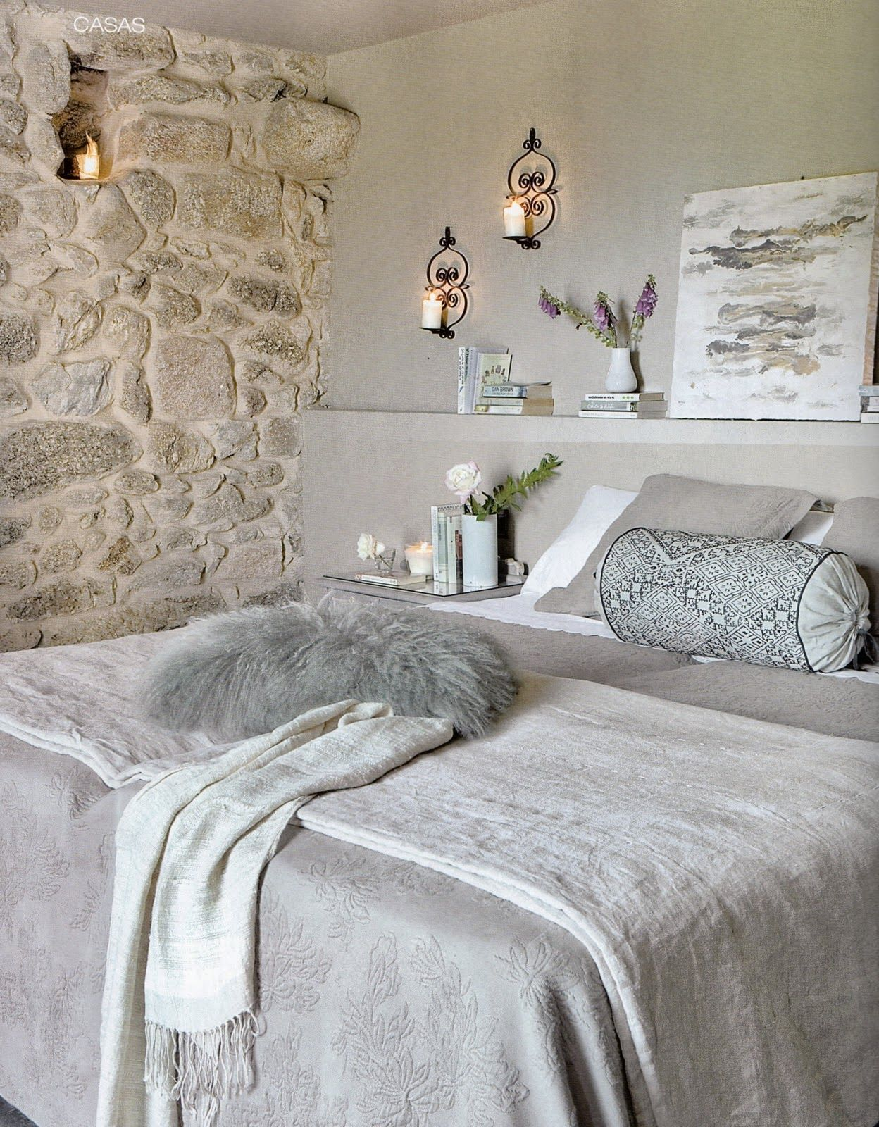 Pingl Par Beatriz L Pez De La Cerda Sur Bedroom Pinterest