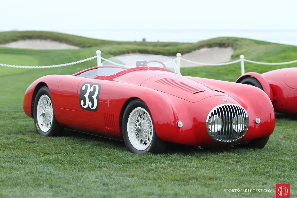 1952 Osca Mt4 Mm Spider Beach Cars Pebble Beach Concours