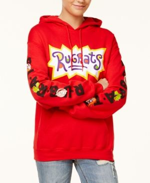 2d9e2d6b6 Nickelodeon X Love Tribe Juniors' Rugrats Pullover Graphic Hoodie - Red XL