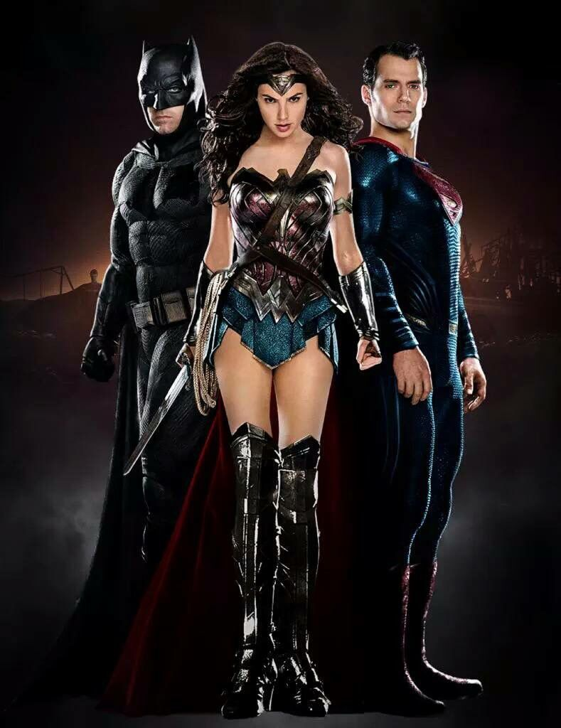 Batman Superman And Wonder Woman V Dawn Of Justice