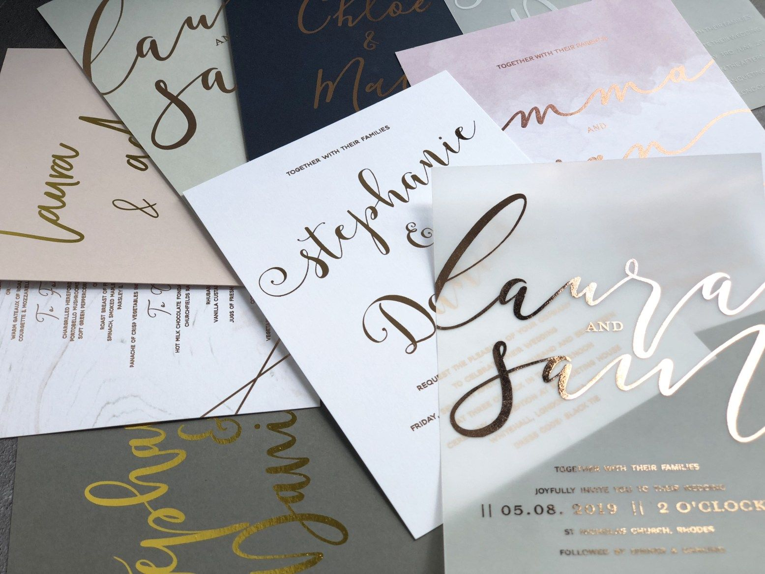 Covid Wedding Invitation Examples