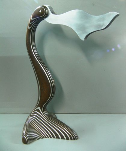 unique aluminum masonite abstract bird sculpture by ca artist unique aluminum masonite abstract bird sculpture by ca artist kevin radley