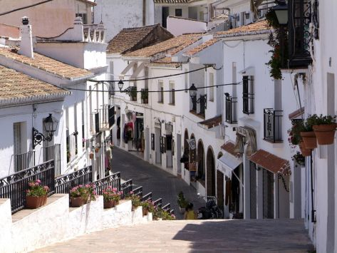 White Village Of Mijas Near Torremolinos Andalusia Spain Europe Photographic Print Hans Peter Merten Art Com Torremolinos Torremolinos Spain Andalusia