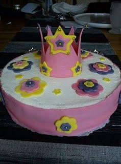 Princess oreo cake