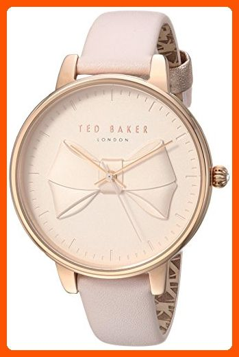f2eaf40be Ted Baker Women s  BROOK  Quartz Stainless Steel and Leather Casual Watch