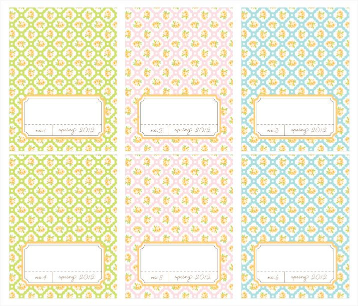 free printable spring place cards <3 | free printables | Pinterest ...
