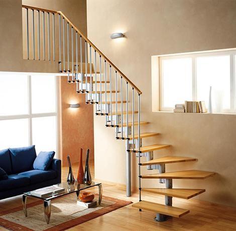 escaleras interiores de casas modernas
