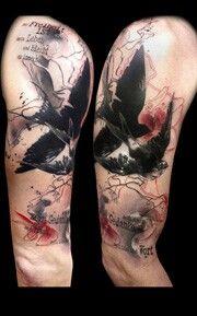 German Tattoo Style : german, tattoo, style, German, Tattoo, Artist, Abstract, Tattoo,, Trash, Polka