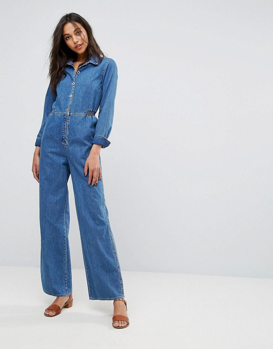 51a06f93824 Get this Mih Jeans s long jumpsuit now! Click for more details. Worldwide  shipping.